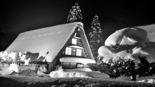 大雪 積雪 屋根