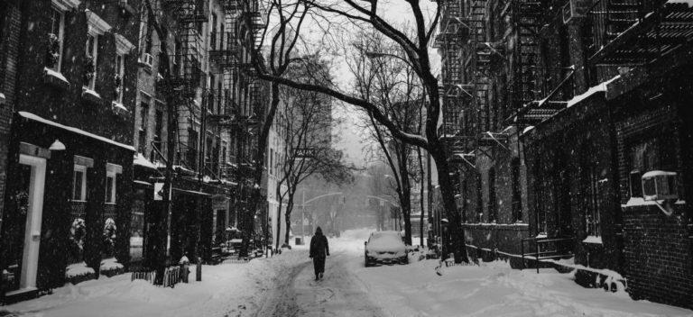 大雪 街 ストリート