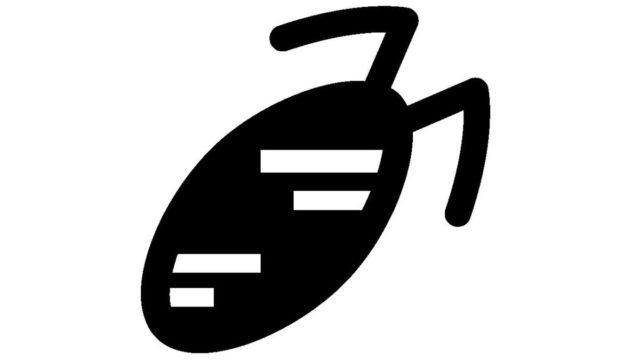 ゴキブリ シルエット